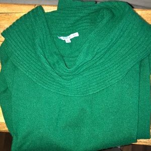 Kelly green wool Antonio Melani sweater